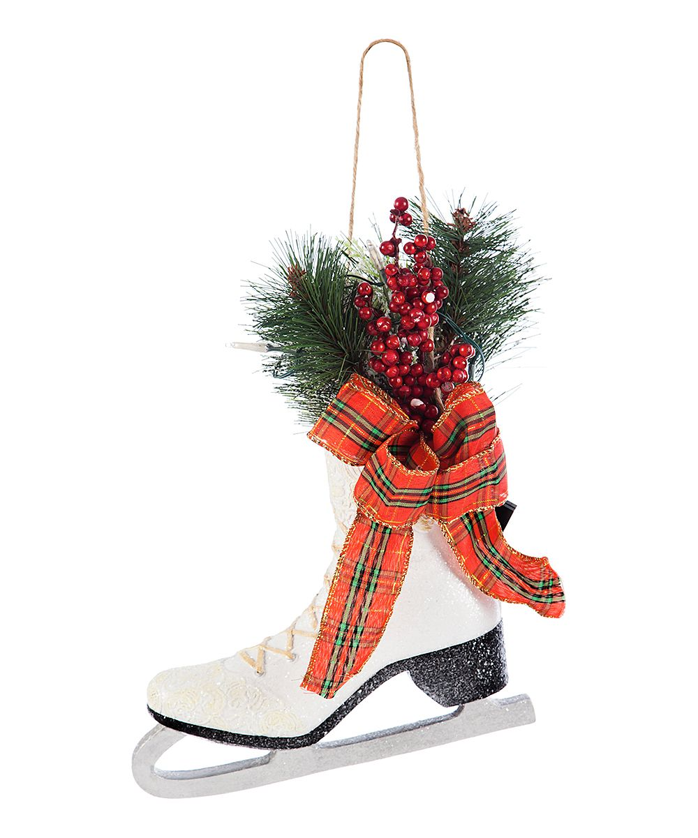 Illuminated Ice Skate Ornament | Products