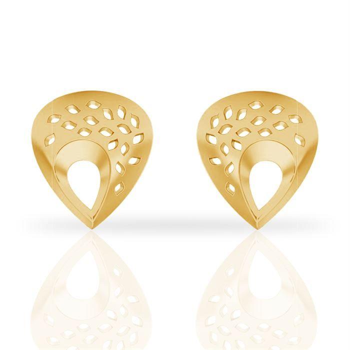 Buy Drop Gold Earring #Drop Gold Earring price in India #Drop Gold ...