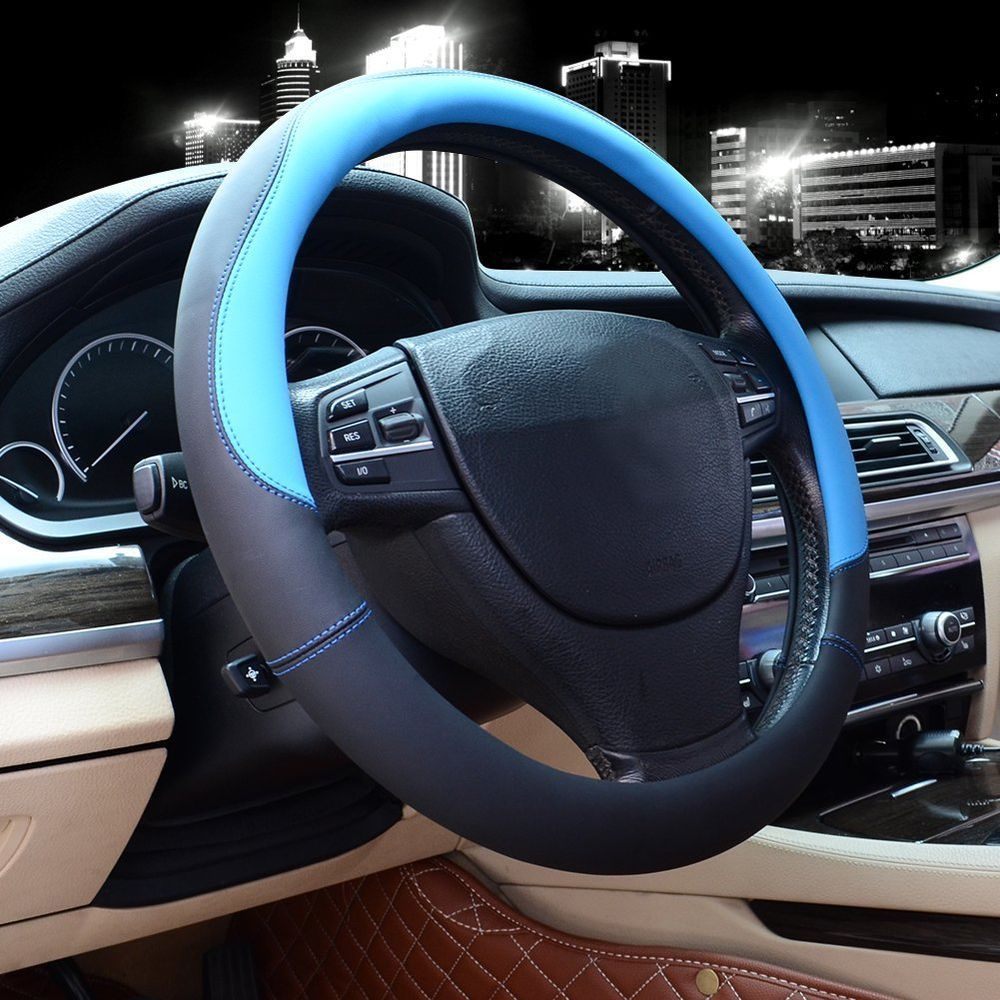how to put on a heated steering wheel cover