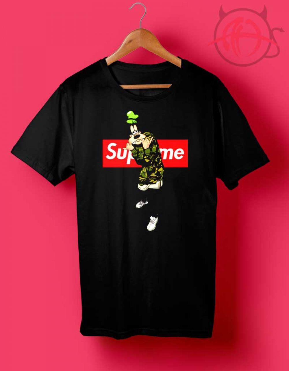 e3f82df85058 Goofy Disney Supreme T Shirt in 2019   Clothing   Supreme t shirt ...