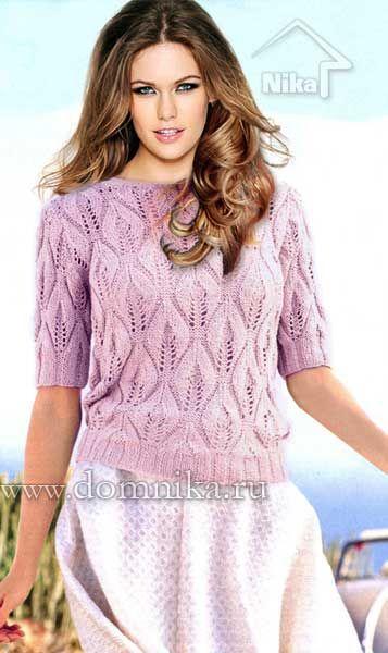 кофточка из хлопка спицами кардиганы пуловеры спицами вязание