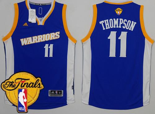 ca7bb0dc7 Warriors  11 Klay Thompson Royal Stretch Crossover The Finals Patch Stitched  NBA Jersey  Warriors Week NBA  DubNation  NBAFinals  FridayFeeling   NBAAwards ...