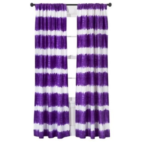 Xhilaration Wall Decor : Xhilaration tie dye window panel purple new home