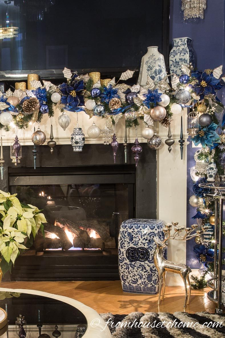 18 How To Decorate a Christmas Mantel With a TV Above It   Christmas ...
