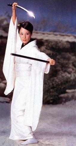 Lucy Liu as O-Ren Ishii alias Cottonmouth in Kill Bill ...