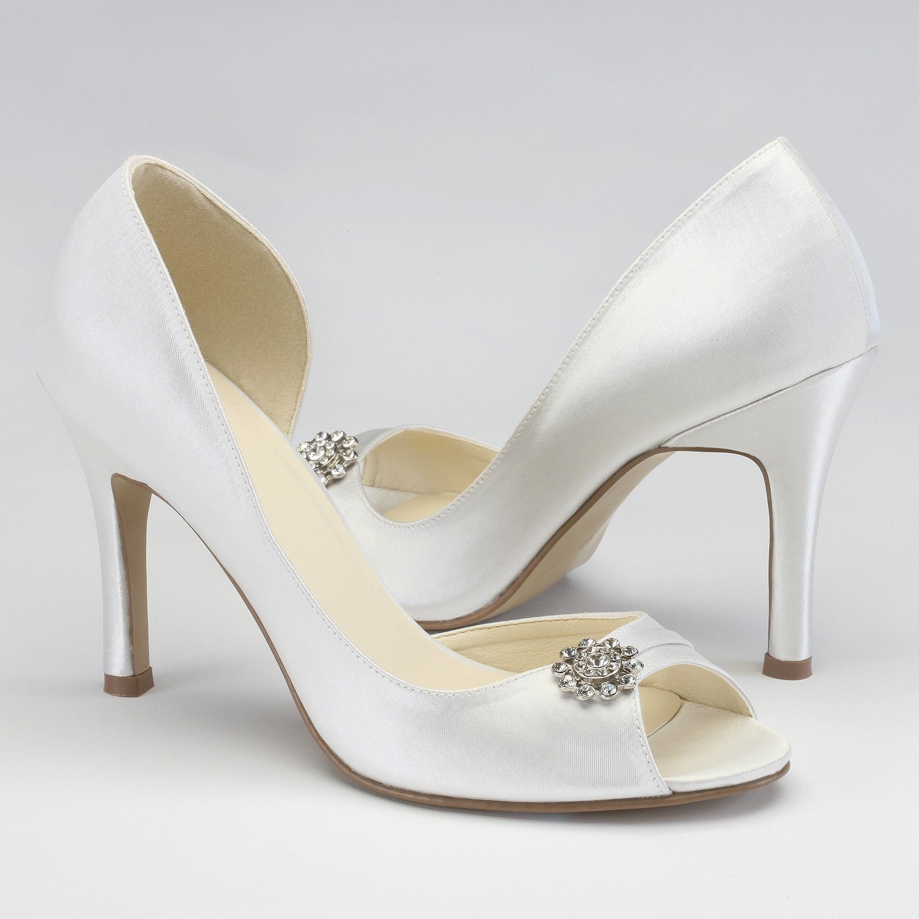 Bridal Shoes From Paradox's Aura Collection. Model 'Hope