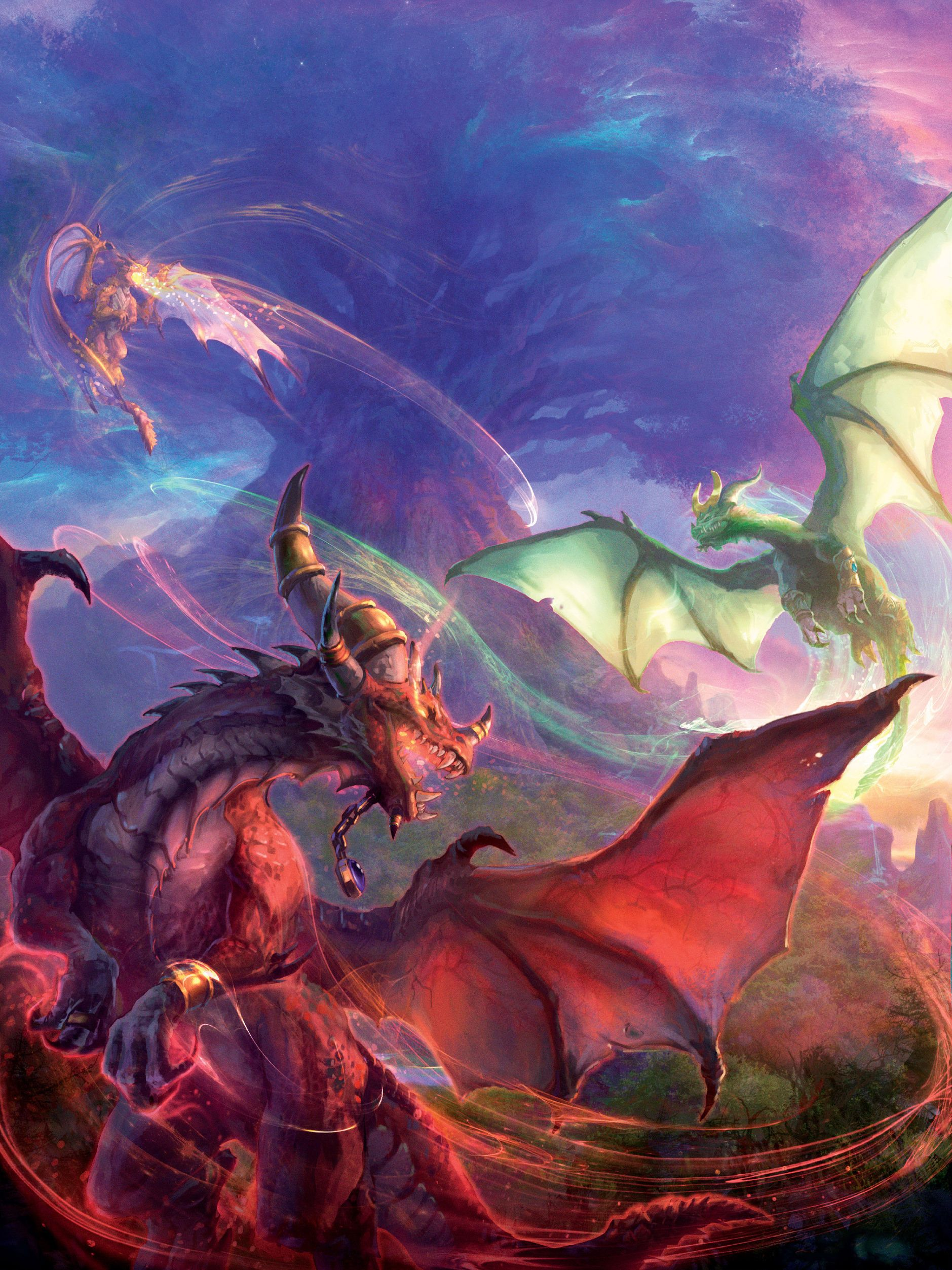 Illustration de Peter C. Lee | Dragons, Warcraft art and Fantasy ... for Fantasy World Art Dragon  165jwn
