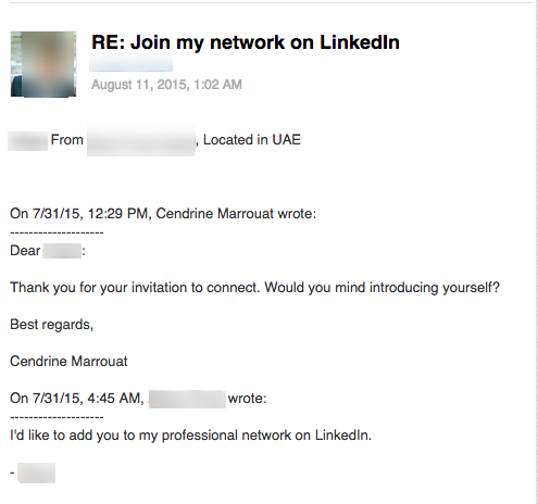 Courtesy rules apply on LinkedIn too How to introduce