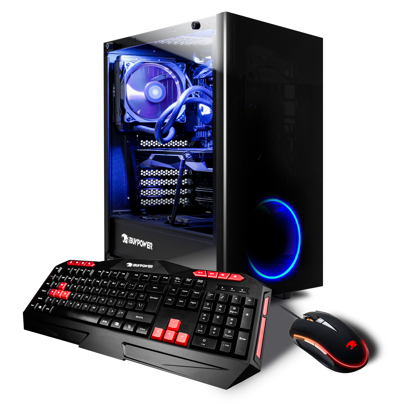 iBUYPOWER Extreme Gaming Desktop Intel Core i7 8700K 16GB Memory 1TB HDD 240GB