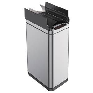 Best Touchless Trash Can With Automatic Motion Sensor Lid Trash