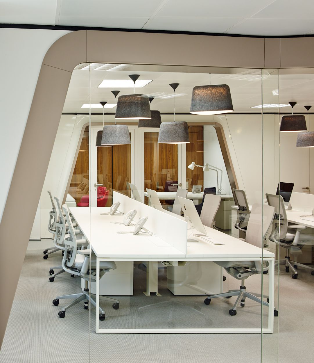 group contemporary office. Contemporary Minimalism: The New Inaugure Hospitality Group HQ In Barcelona Office A