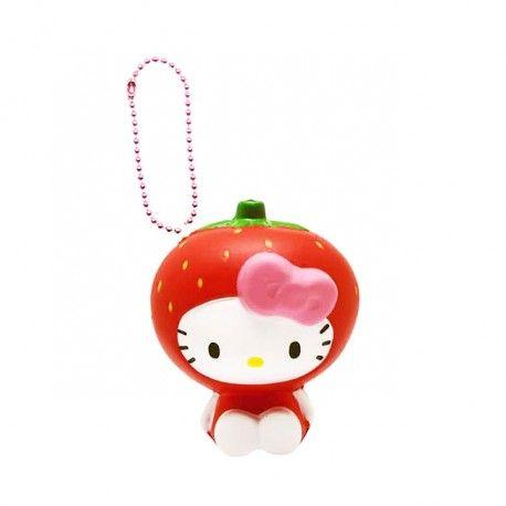 Sanrio Hello Kitty Fruits Market Squishy Hello Kitty Twin Strawberry Costume