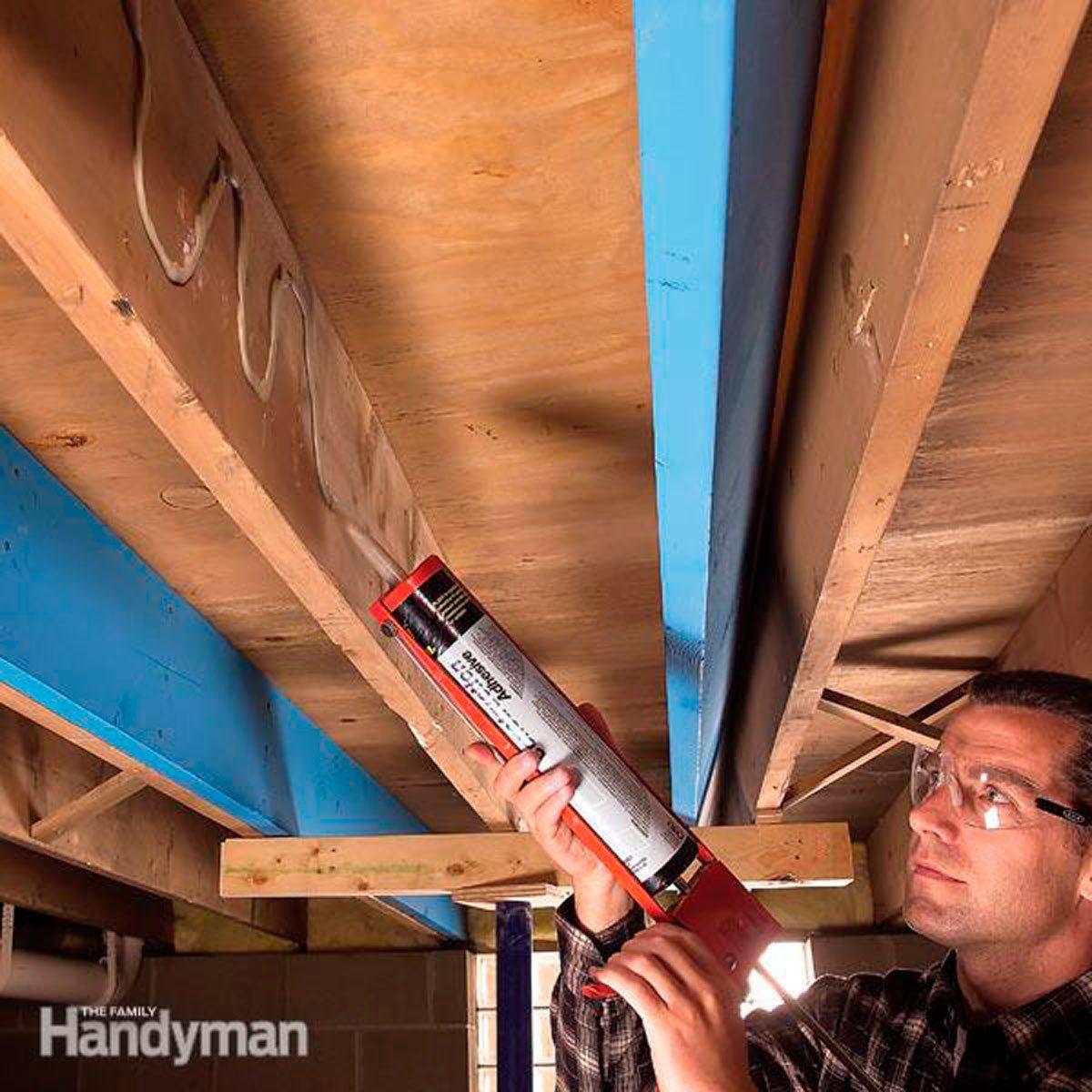 How To Make Structural Repairs By Sistering Floor Joists Home Repair Home Repairs Diy Home Improvement