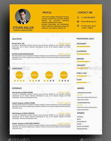 modern resume - Google keresés Resume Pinterest Modern resume - the modern resume