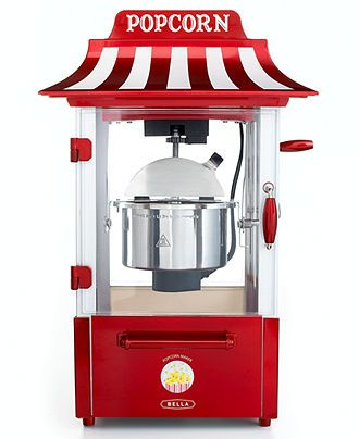Bella 13566 Popcorn Maker Theatre Style Specialty Electrics Kitchen Macy S Things I Want For My House Air Popcorn Maker Popcorn Popcorn Maker