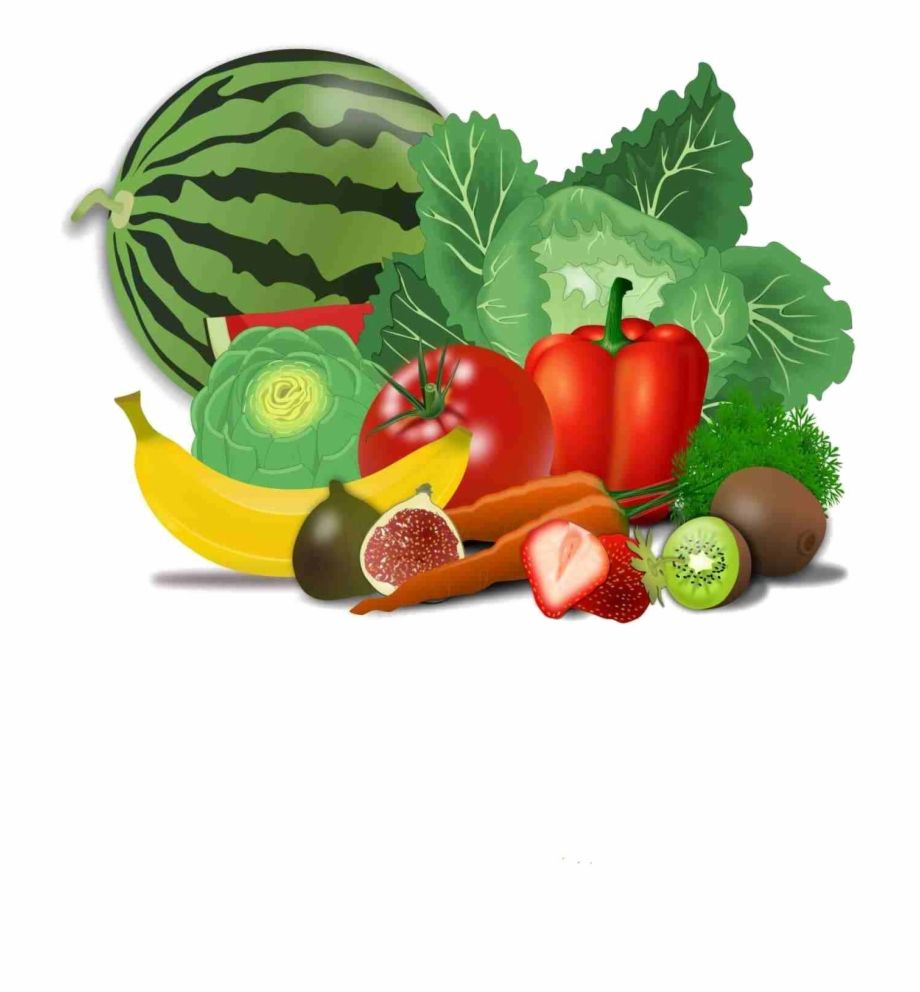 Fresh Healthy Food Transparent Png Fruits And Vegetables Clipart