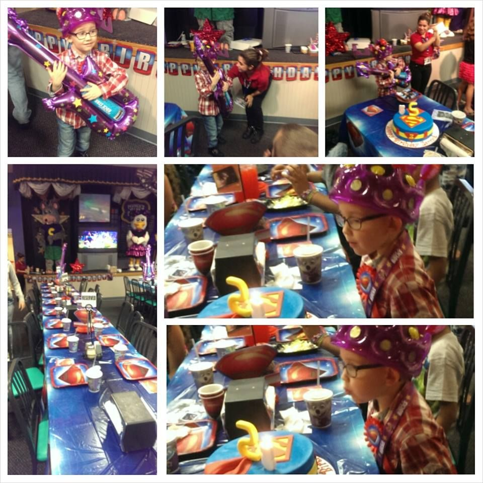 Chuck E. Cheese's Birthday Party!