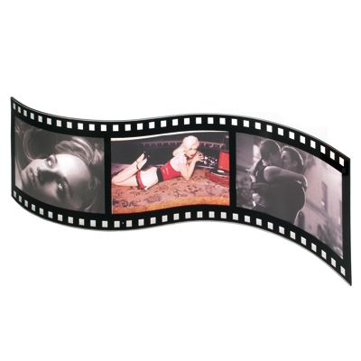 Movie Themed Filmstrip Picture frame with your personalization Bar ...