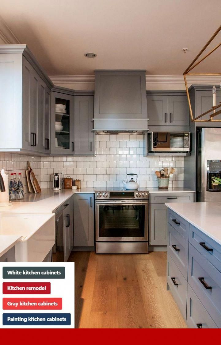 Painting Kitchen Cabinets How Much Does It Cost #cabinets