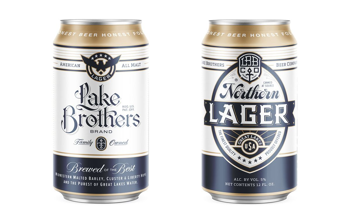 Lake Brothers Beer Co. - Chicago, IL. on Behance