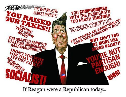Good one on how Raygun would be hated by today's GOP. #Raygun #RonaldReagan