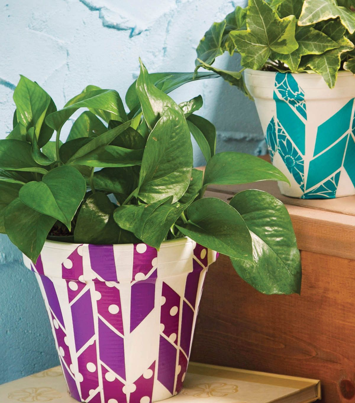 24 Indoor Herb Garden Ideas To Look For Inspiration: What A Great Idea To Liven Up Flower Pots With Decorative