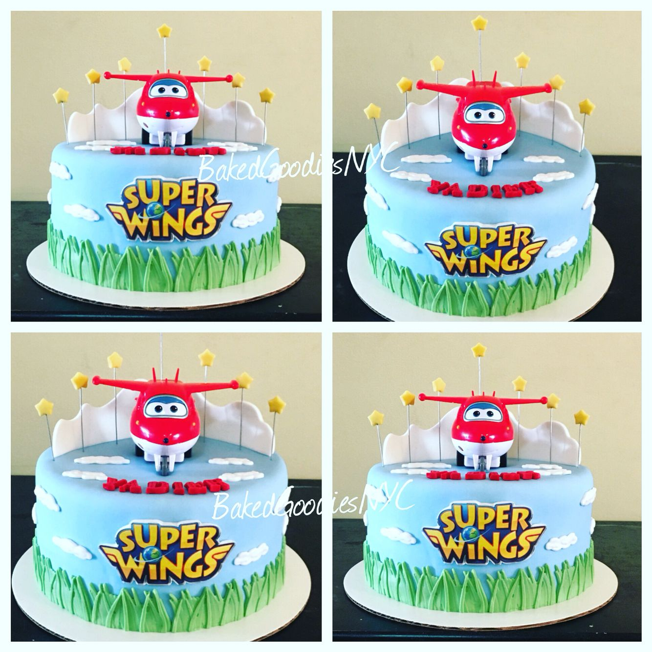 SUPER WINGS CAKE | CAKES | Birthday, 5th birthday cake, Birthday cake