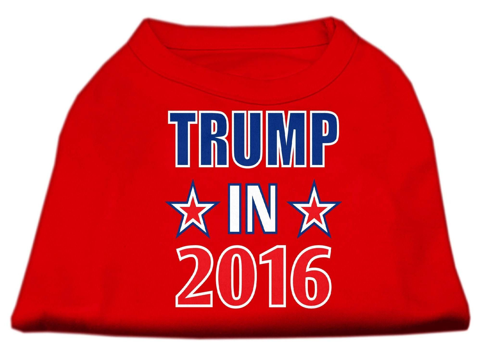 Trump in 2016 Election Screenprint Shirts Red Med (12)