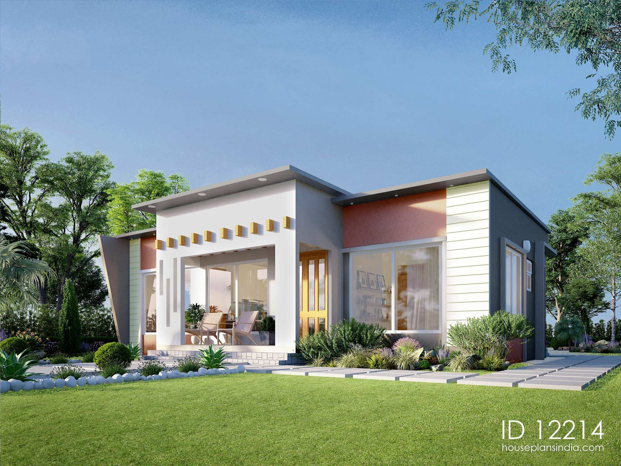 Intricate Facade 2 Bedroom House Id 12214 Luxury House Plans Contemporary House Plans Beach House Plans