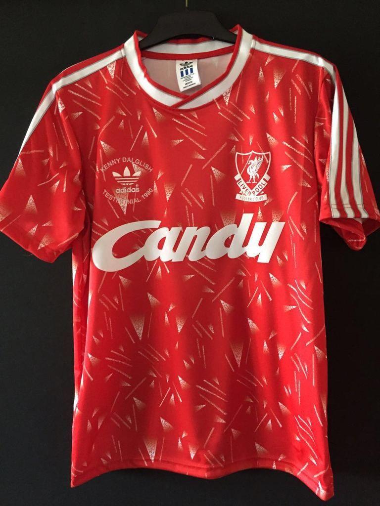 da336700278 1989-1990 Liverpool Home Shirt