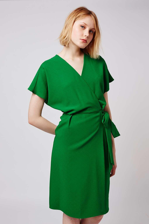Wrap Dress - Dresses - Clothing