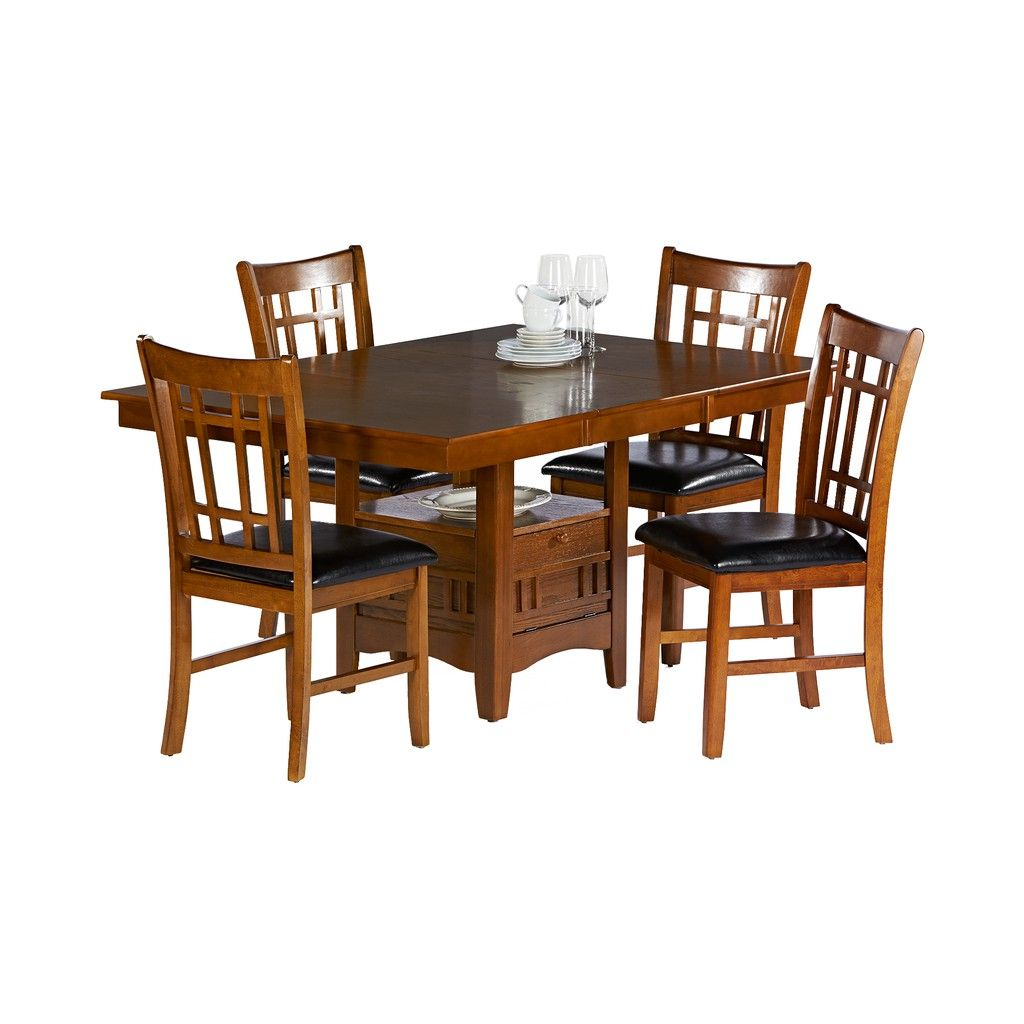 Fred Myer Love The Storage In Center Hd Designs Jefferson 5 Piece Dining Set 5 Piece Dining Set Dining Set Design