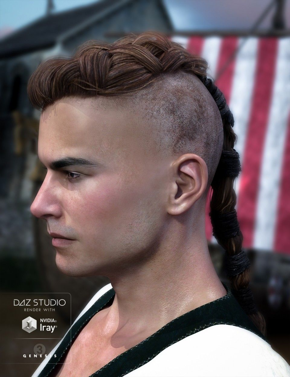 Viking Hair For Genesis 3 Male S Viking Hair Womens Hairstyles Hair Styles