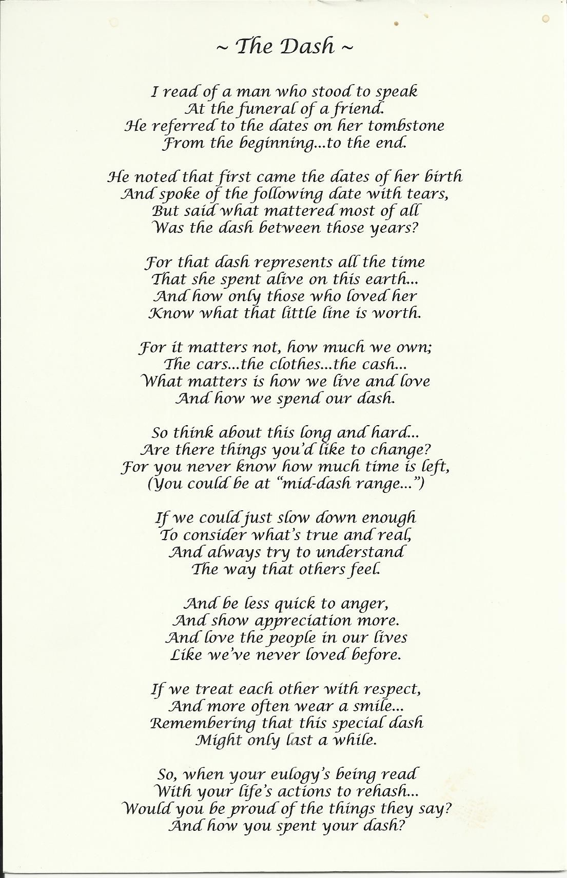 It is an image of Sweet Poem the Dash Printable