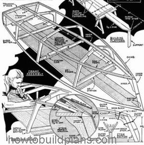 How To Build A 12 Foot Banta Outboard Boat Plans Boat