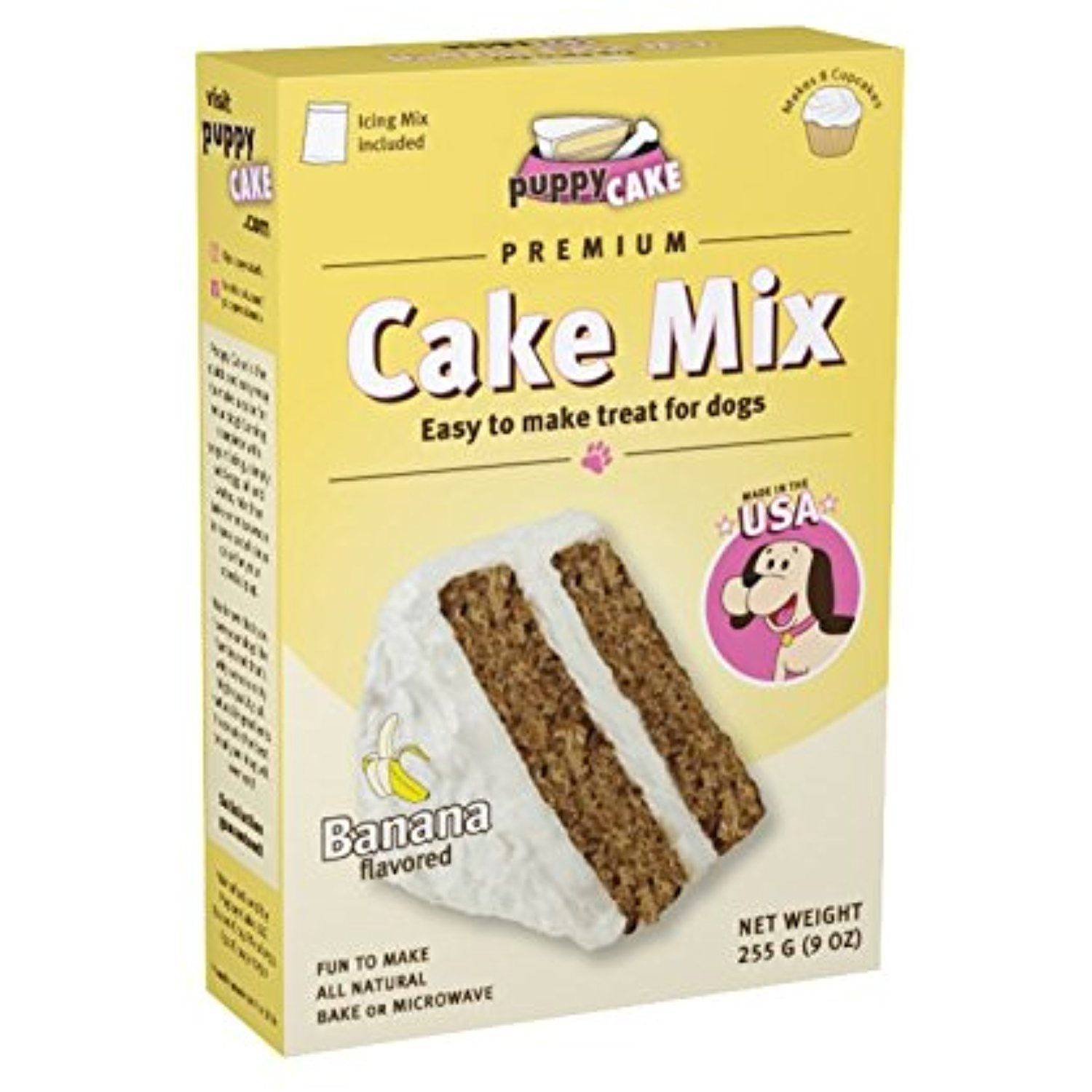 Puppy Cake Banana Cake Mix And Frosting For Dogs You Can Visit