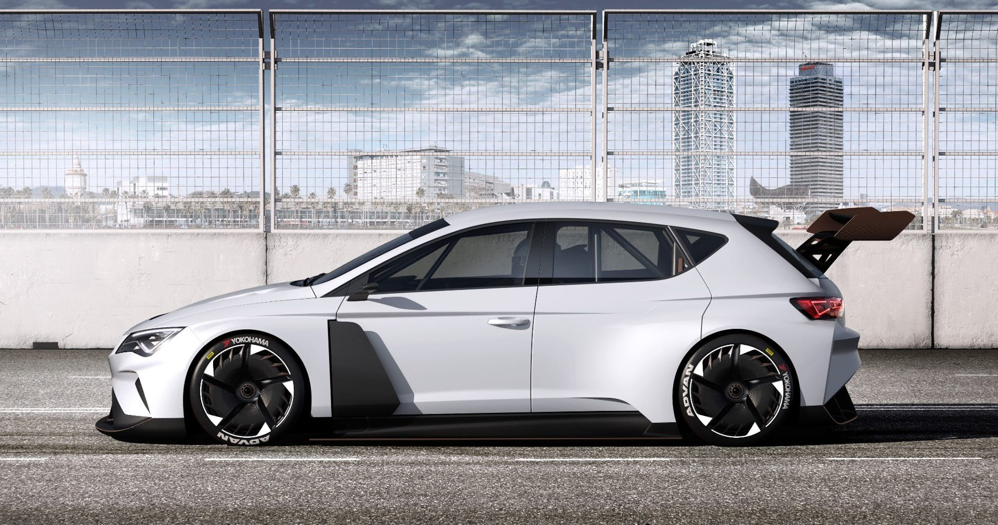 Seat Kicks Off Its Cupra Brand With 680 Hp E Racer Electric Touring Car Seat Cupra Car In The World Car