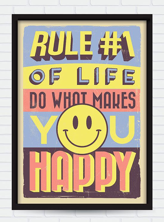 20 Retro Vintage Motivational Typography Quotes Typography Quotes What Makes You Happy Inspirational Quotes Motivation