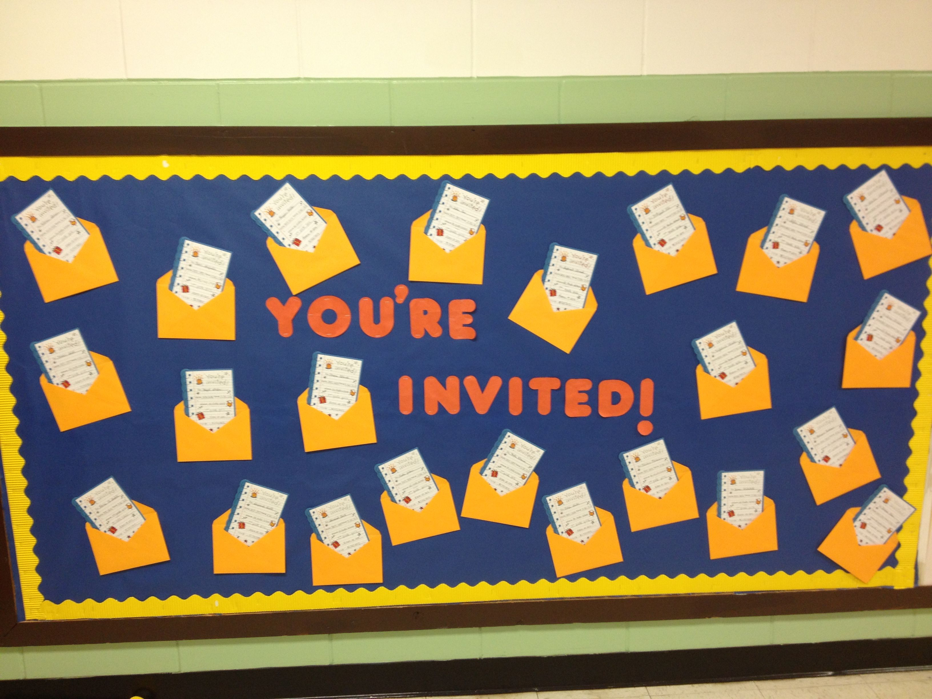 Classroom Welcome Ideas : Classroom welcome board for the new school year