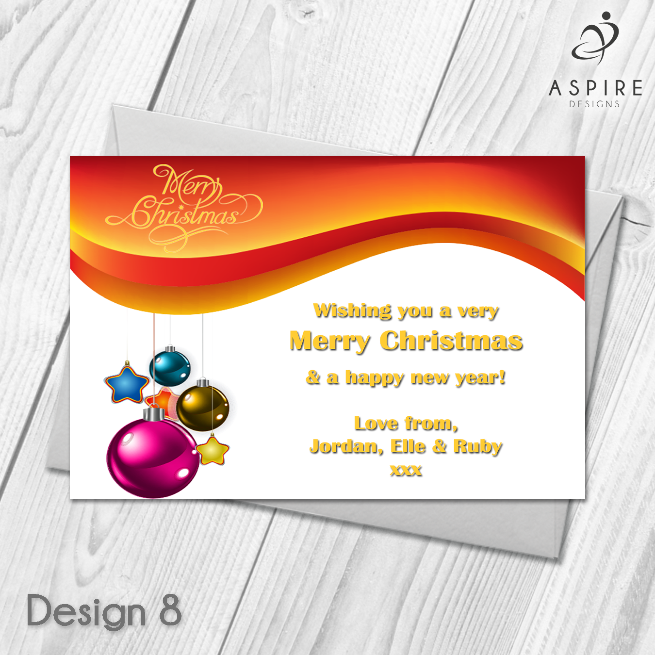 Personalised Snowflake Merry Christmas Cards Xmas Postcards | Pinterest