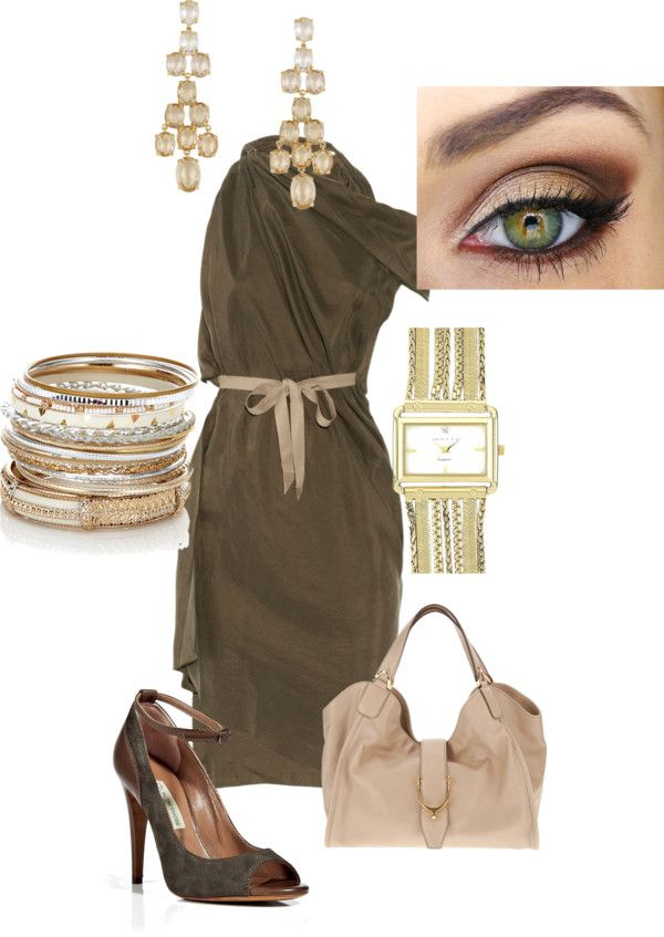 """""""Olive and Cream"""" by seidsonstephens ❤ liked on Polyvore"""