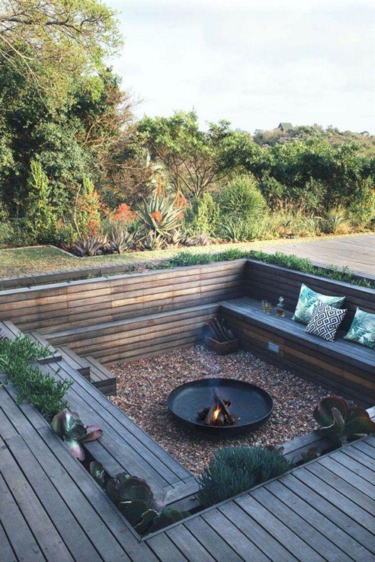 50 Marvelous Backyard Fire Pit Ideas Deck Designs