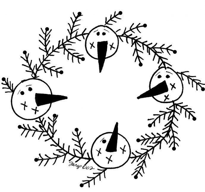 1000+ ideas about Snowman Patterns on Pinterest   Snowman ...
