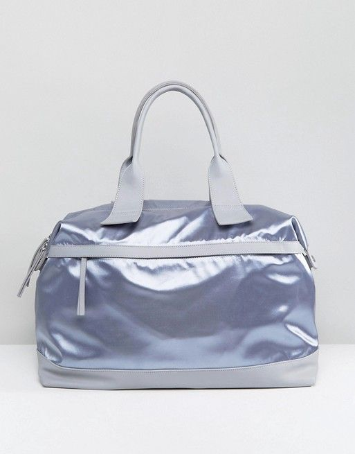 LAMODA Satin Carryall in Gray | ASOS | Pinterest | Fashion online ...