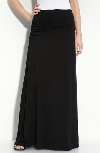 Bobeau Asymmetric Knit Maxi Skirt available at #Nordstrom | Style ...