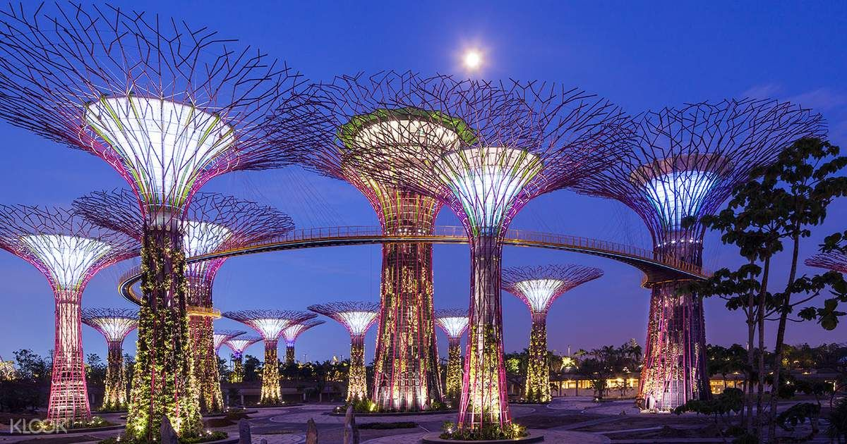 Gardens by the Bay and OCBC Skyway Tickets Klook UK