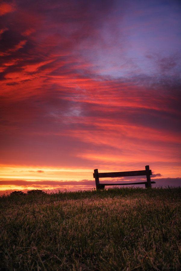 Beautiful Fiery Sunset - Warrnambool - Australia