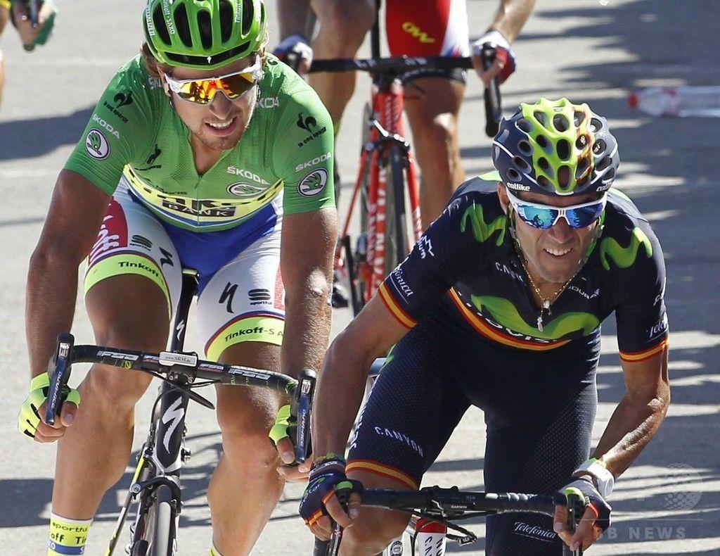 バルベルデがサガンを抑えて第4ステージ優勝。 ブエルタ・ア・エスパーニャ 国際ニュース:AFPBB News #LV2015 #rm_112