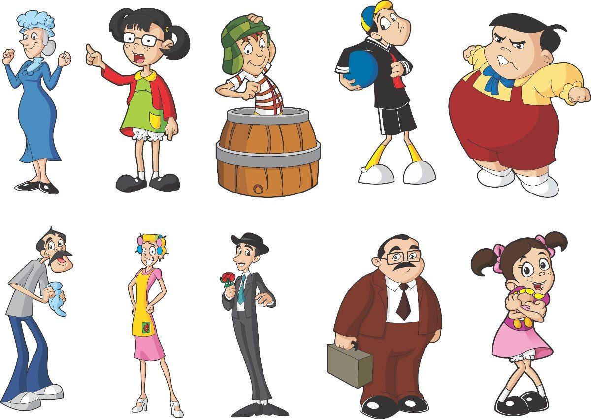 Personagens Chaves Desenho Pesquisa Google Aniversario Do