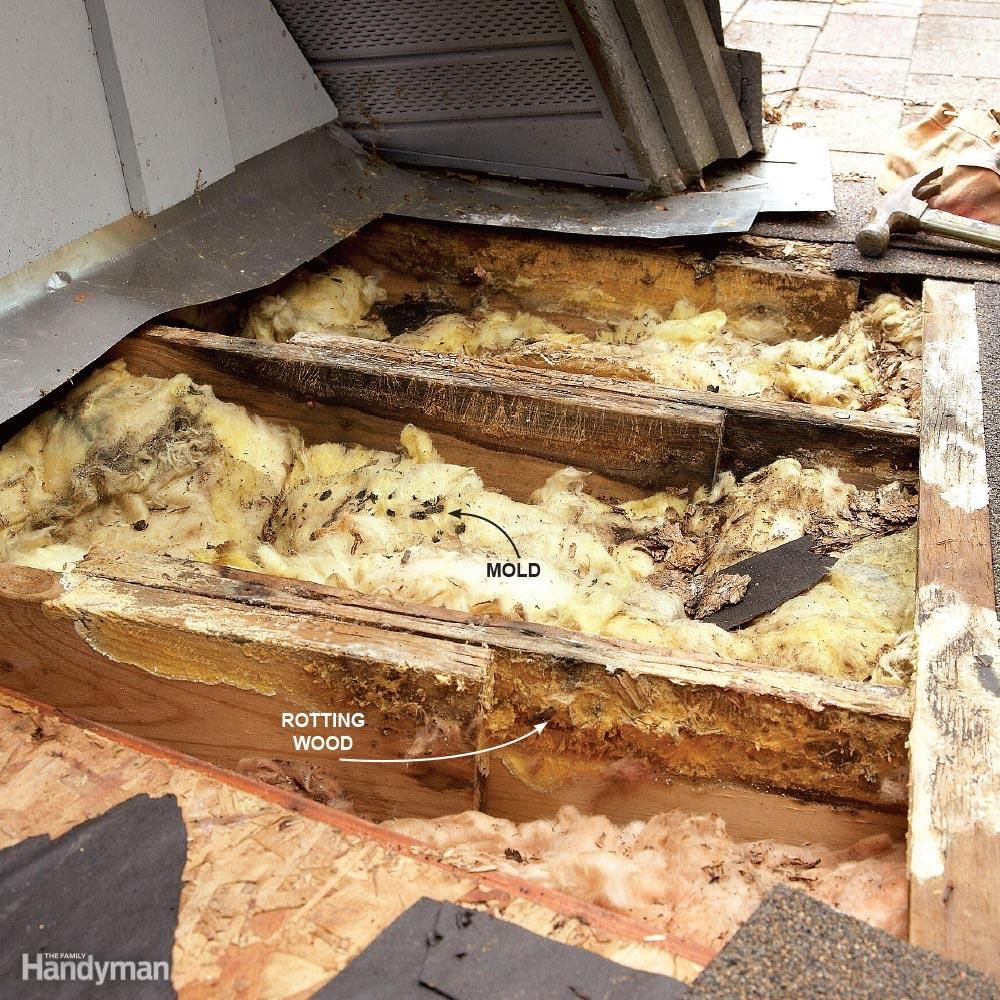 You Can Stop Leaks Yourself No Experience Necessary We Show You How To Track Down And Fix The Most Common Types Of Roof Le Leaking Roof Leaky Roof Roof Repair